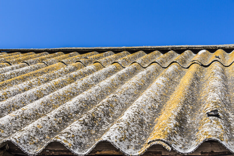 Asbestos Garage Roof Removal Costs Dorset United Kingdom
